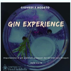 Hotel Isolabella- Isolabar - Gin Experience