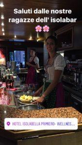 Hotel Isolabella - le nostre bariste