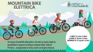 Hotel Isolabella - E-bike - pedalata assistita