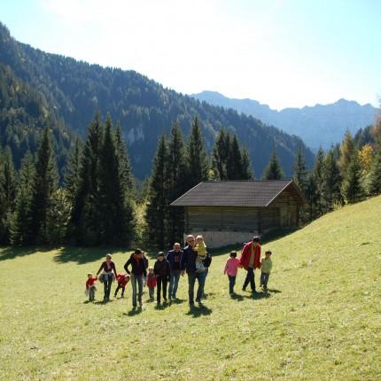 pranzo in baita - Val Giasinozza - Hotel Isolabella Primiero - Trentino