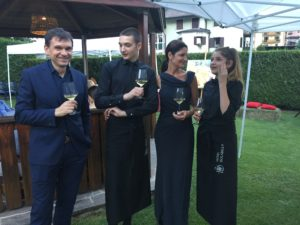 Hotel Isolabella Wellness Art&Music - aperitivo in giardino - estate