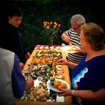 aperitivo in giardino - Hotel Isolabella Primiero - Trentino