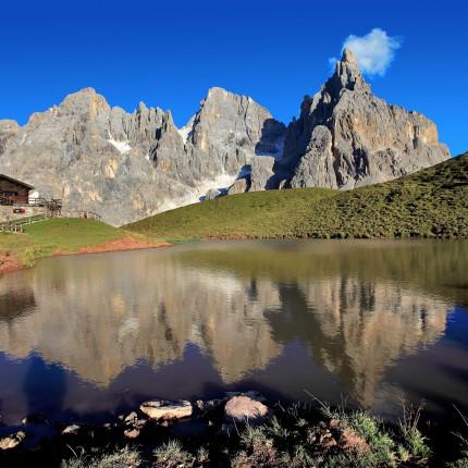 Baita Segantini - Passo Rolle - Trentino