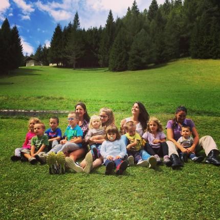 bambini in baita - Val Giasinozza - Hotel Isolabella Primiero - Trentino