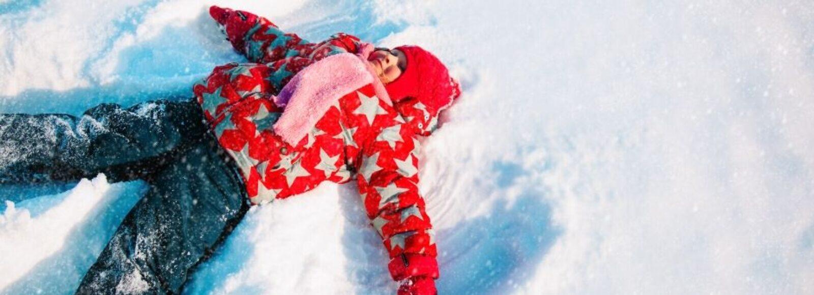 bambini sulla neve - Primiero - Trentino