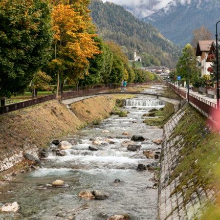 Passeggiando per le vie del centro - Fiera di Primiero - Trentino