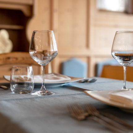 Sala dell'Albero del ristorante dell'Hotel Isolabella in Trentino