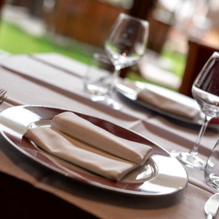 Sala Giardino del ristorante dell'Hotel Isolabella in Trentino