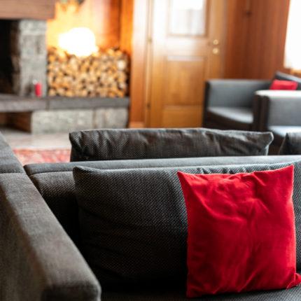 sala del camino - Hotel Isolabella Primiero - Trentino