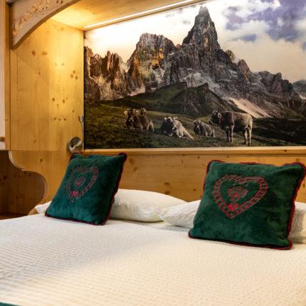 stanza comfort piccola - Hotel Isolabella Primiero - Trentino