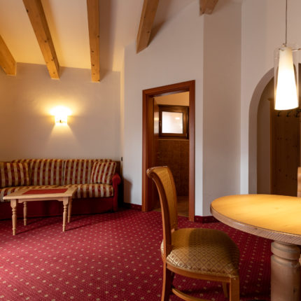 Junior suite Giardino - Hotel Isolabella Primiero - Trentino