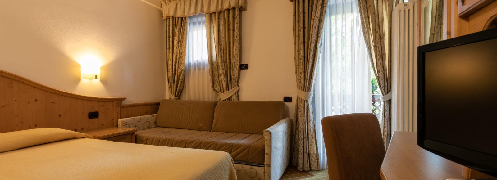 Hotel Isolabella Primiero - stanza comfort