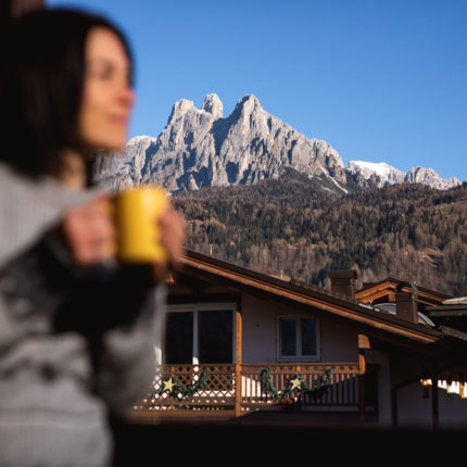 Camera con vista - Hotel Isolabella Primiero - Trentino