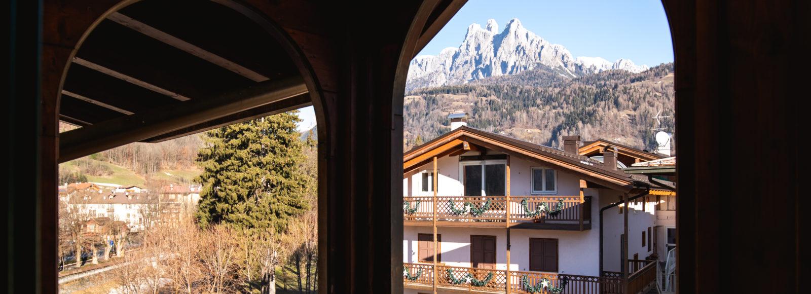 vista da una delle nostre stanze - Hotel Isolabella Primiero