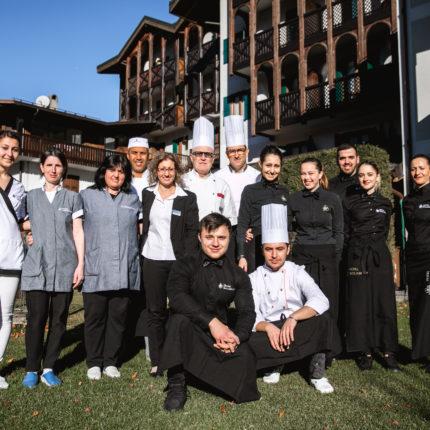 Staff Hotel Isolabella al completo