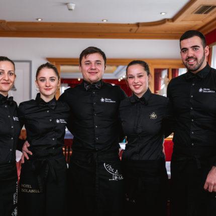 Staff ristorante - Hotel Isolabella Primiero - Trentino