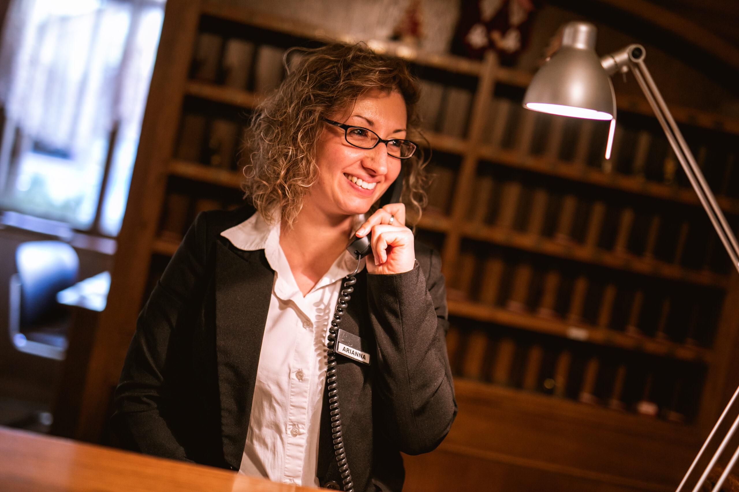 Staff reception - Hotel Isolabella Primiero - Trentino