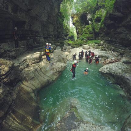 canyoning - attività estiva - Hotel Isolabella Primiero - Trentino