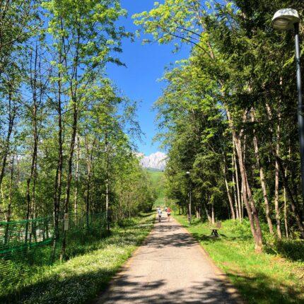 Pista ciclabile Fiera di Primiero - Trentino
