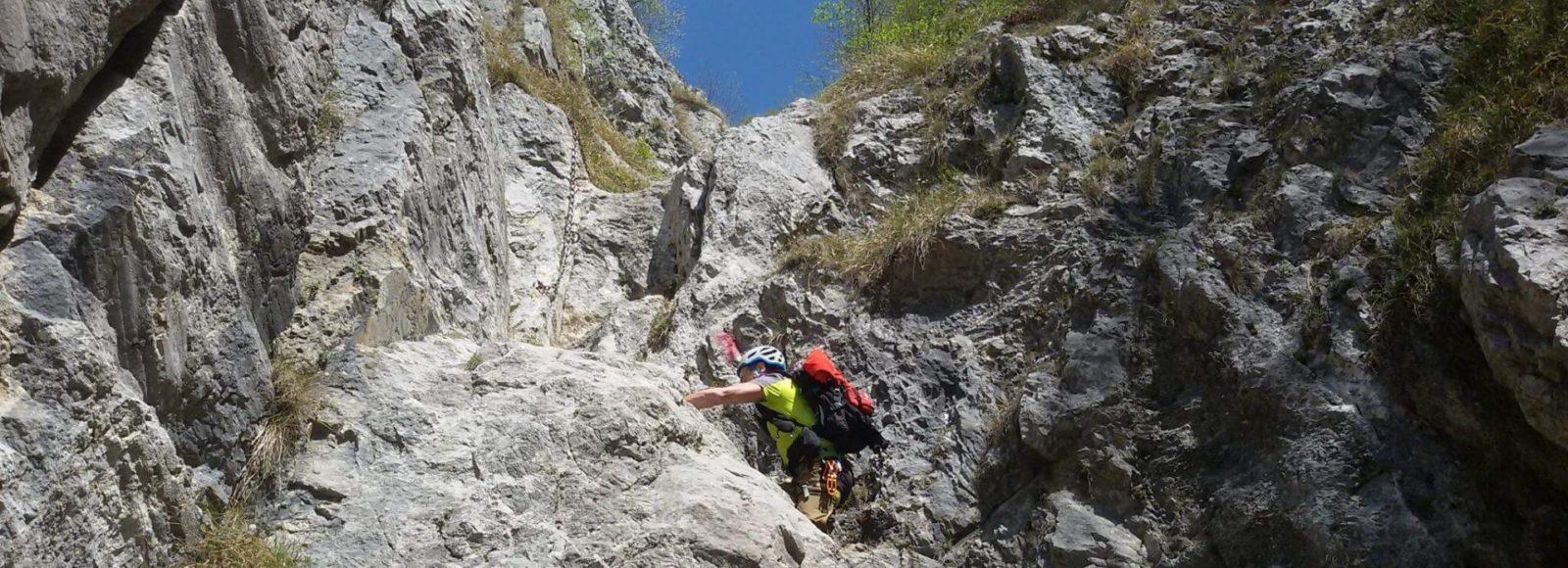 ferrata - attività estive - Hotel Isolabella - Trentino