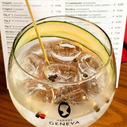Gin Tonic Menù