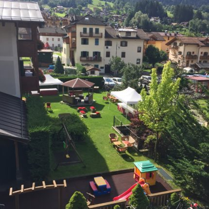 Giardino dell'Hotel Isolabella