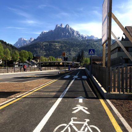 pista ciclabile - Fiera di Primiero - Trentino