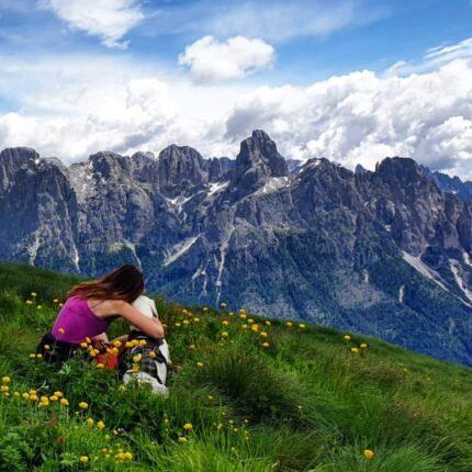 montagne con vista
