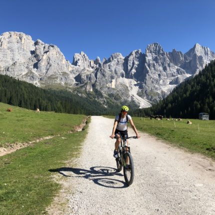 Itinerari bike in Val Venegia