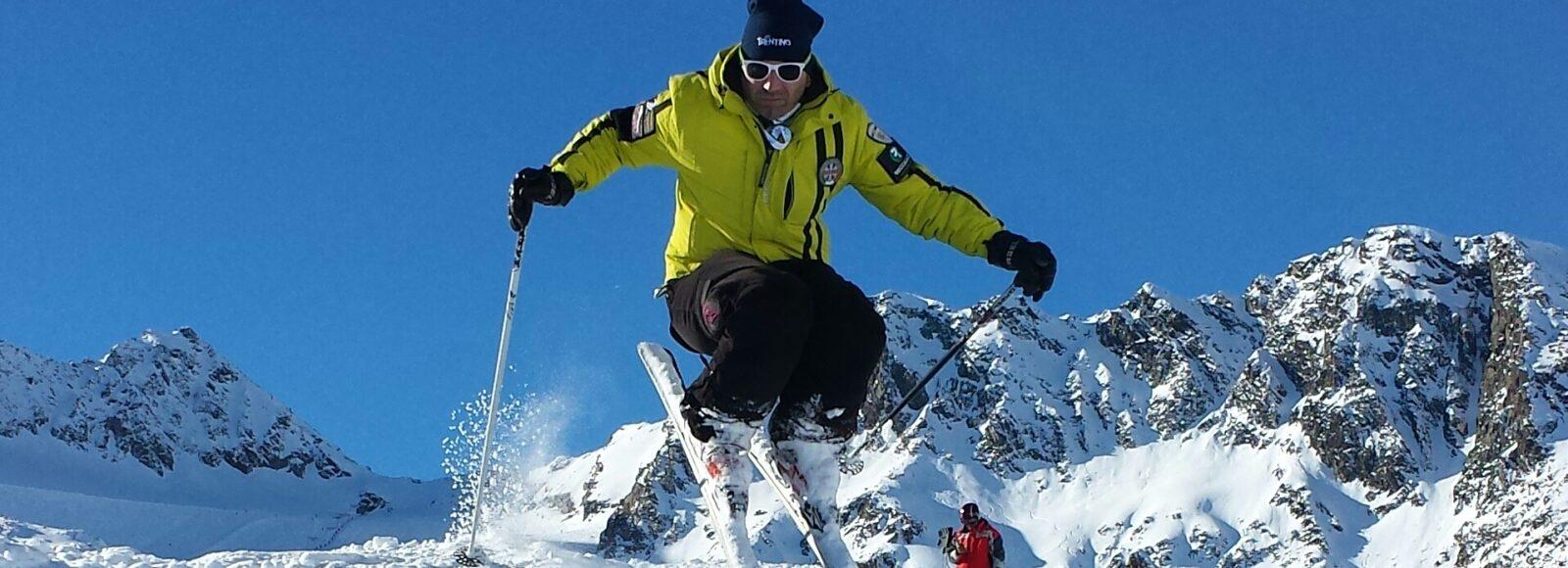 Sciatore fuori pista