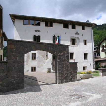 Panoramica Palazzo Scopoli, Primiero San Martino di Castrozza