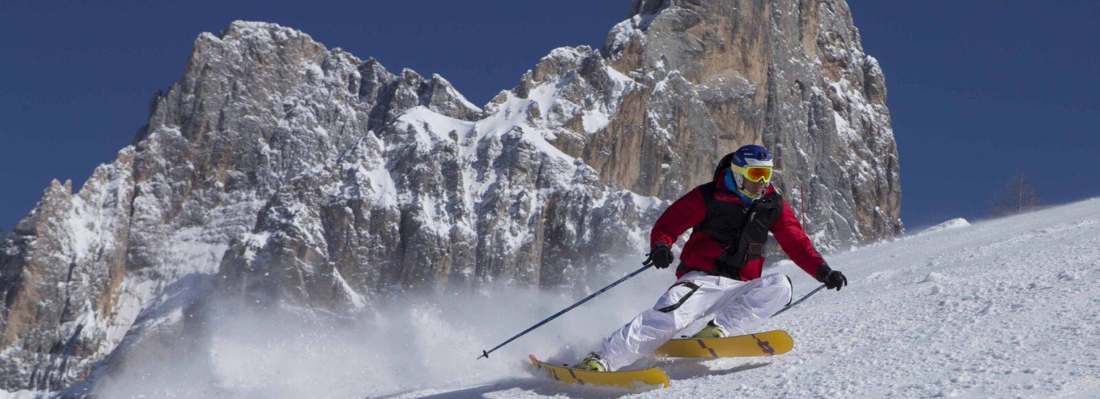 Sciare a Primiero San Martino di Castrozza - Trentino - foto di Marco Trovati