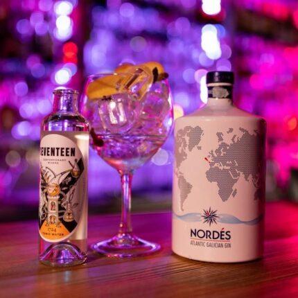 Gin Tonic Nordés ad Isolabar, Hotel Isolabella, Trentino