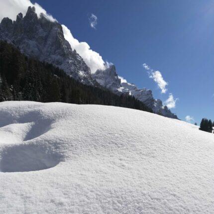 Scorcio delle Dolomiti trentine