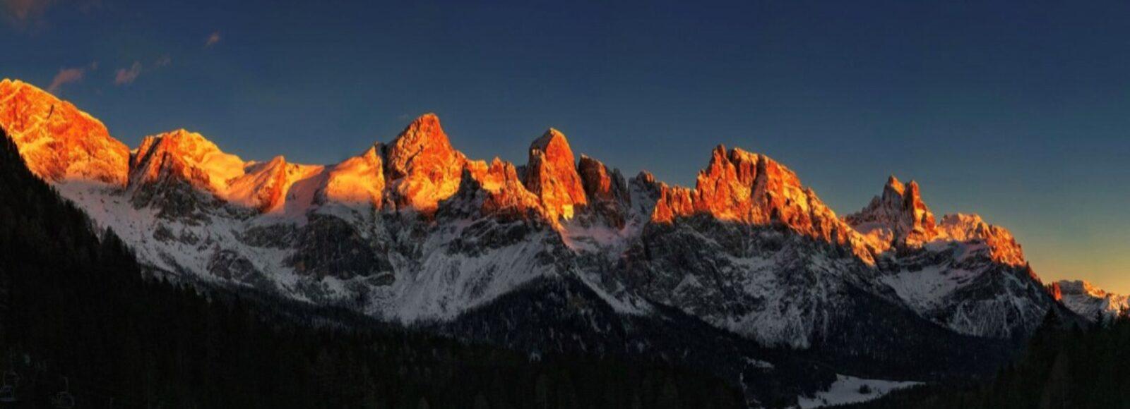 Dolomiti - Enrosadira