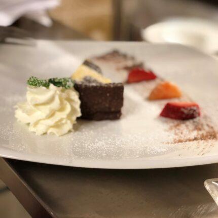 sbriciolata al cioccolato e mascarpone